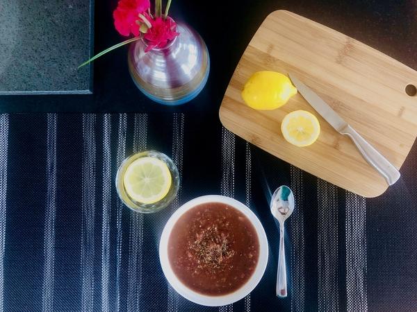 Gazpacho – Cold Raw Soup with a Kick