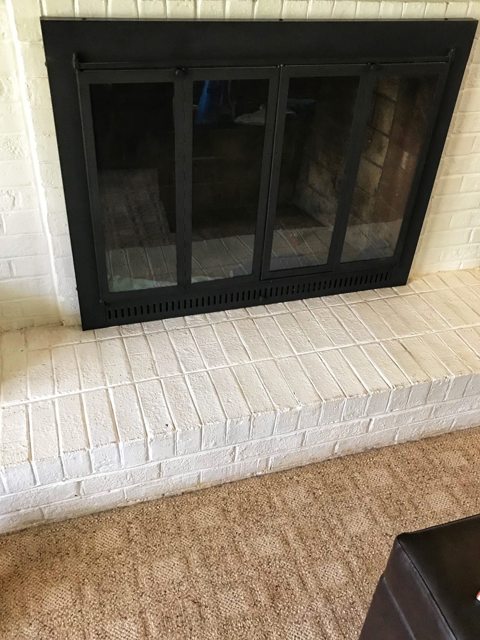 Diy Baby Proofing Your Brick Fireplace