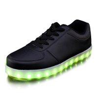 Joansam USB Charging LED Shoes Flashing Sneakers