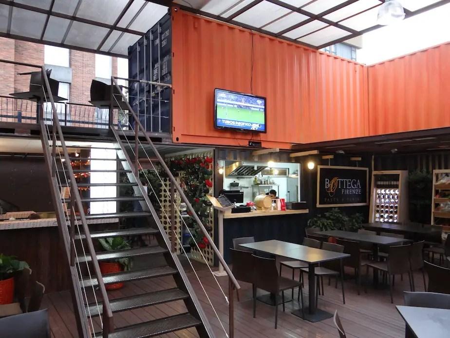 Container Park Restaurants