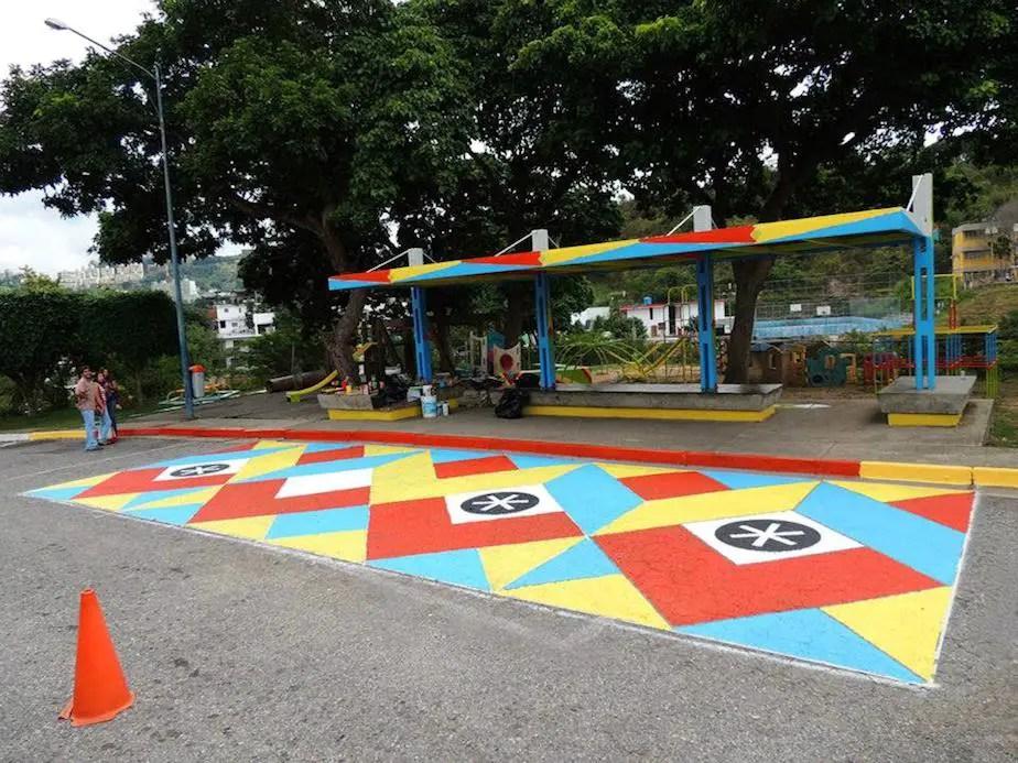 6. Bus stop of Childrens Hospital  San Juan de Dios in Venezuela Flix