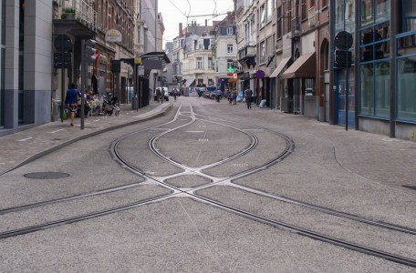 ghent tram tracks