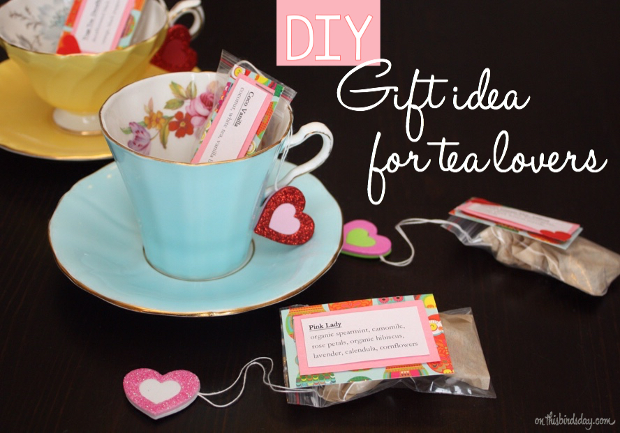 DIY Crafty Gift Idea For Tea Lovers This Birds Day