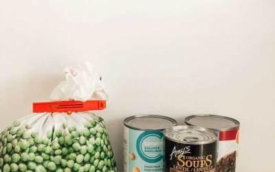 Zero Waste Grocery Shopping : Canned vs. Frozen