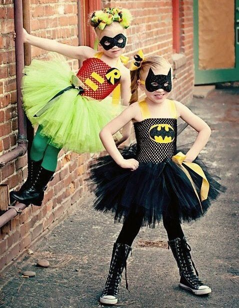 Batgirl and Robin | This Blended Home of Mine - Halloween Costumes for the Whole Family