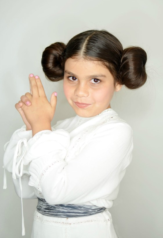leia-makeup-step This Blended Home of Mine - Halloween Costumes for the Whole Family