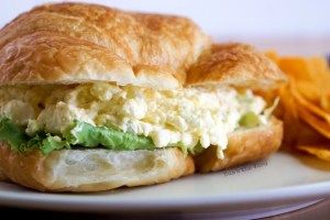 Egg Salad Sandwich - 20 Cheap Dinner Ideas for When You Are Skint on Money, Food, or Time- This Blended Home of Mine
