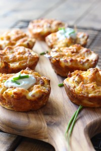 mashed-potato-puffs - 20 Cheap Dinner Ideas for When You Are Skint on Money, Food, or Time- This Blended Home of Mine