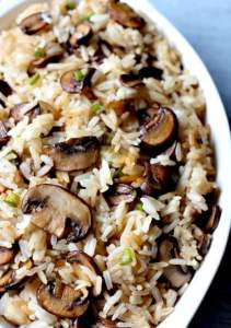 spicy-mushrooms- 20 Cheap Dinner Ideas for When You Are Skint on Money, Food, or Time- This Blended Home of Mine