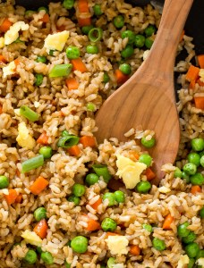 the-best-fried-rice - 20 Cheap Dinner Ideas for When You Are Skint on Money, Food, or Time- This Blended Home of Mine