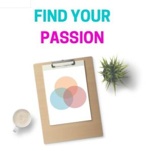 Find your passion - Free Workbook