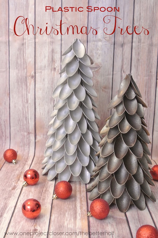 Christmas Decorations - Cheap Christmas Decorations - Plastic Spoons Christmas Tree