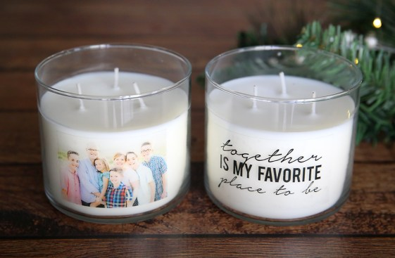 Christmas Gifts - Cheap Christmas Gifts - Personalized Candles
