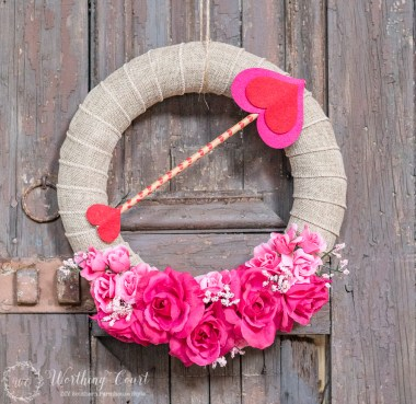 Valentines Day for the Whole Family - Wreath