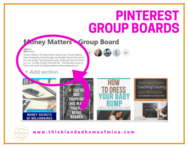 Grow your Pinterest Followers - Pinterest Group Boards - This Blended Home of Mine