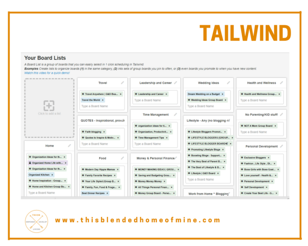 Grow your Pinterest Followers - Tailwind - This Blended Home of Mine