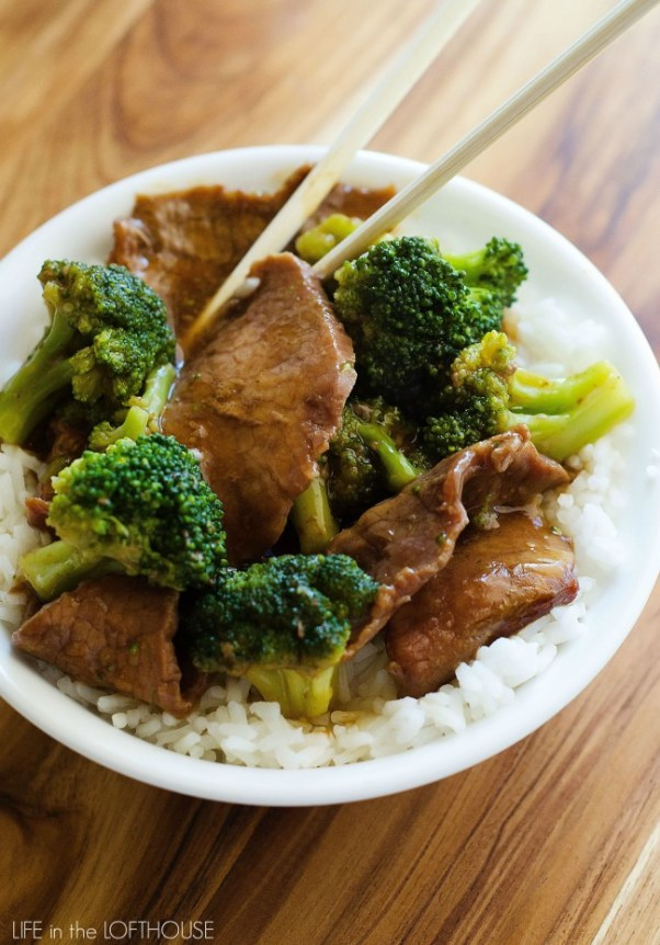 Easy Slow Cooker Recipes - Beef and Broccoli