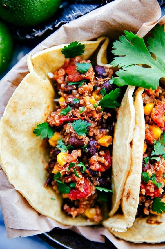Easy Slow Cooker Recipes - Quinoa Tacos