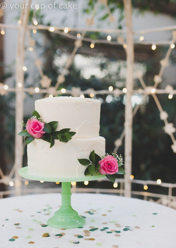 Wedding on a Budget - DIY Cake