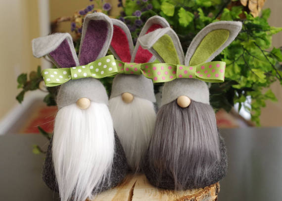 Easy DIY Easter Decorations - Easter Gnomes
