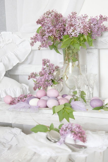 Easy Easter DIY Decorations - Easter in Lilac