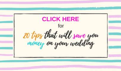 20 Money saving hacks every bride should know