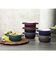 Stoneware Ombre Bowl Set of 6