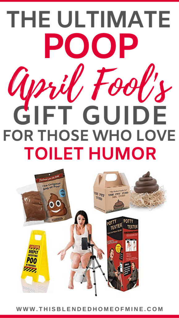 The Ultimate Poop April Fool's Gift Guide - This Blended Home of Mine - poop gifts