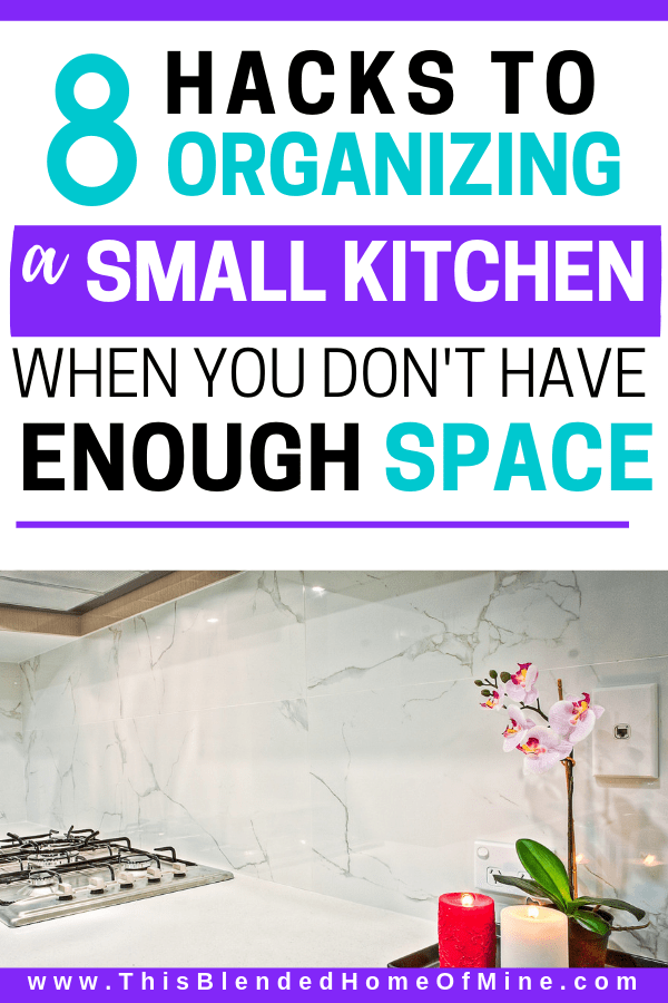 8 Hacks to organizing a small kitchen when you don't have enough space - how to organize a small kitchen