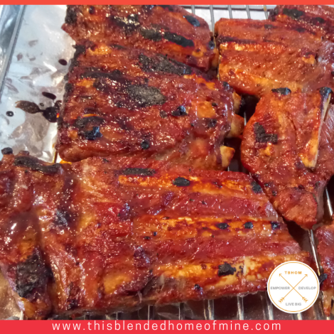 Best Ever Instant Pot Spare Ribs Recipe - This Blended Home of Mine - Easy instant pot pork spare ribs recipe
