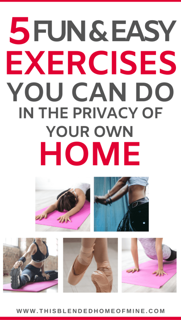 5 Easy and Fun Exercise Routines You Can Do In the Privacy of Your Own Home