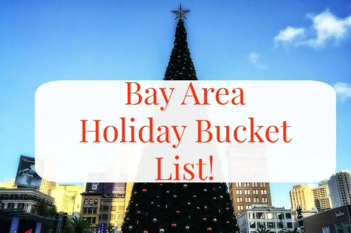 Bay Area Holiday Bucket List