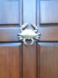 door knocker crab