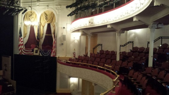 Ford's Theater interior, DC
