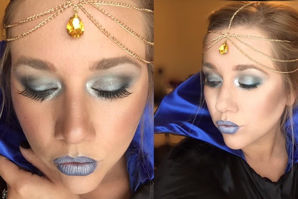 Last-Minute Halloween Makeup | Snow Queen/Ice Princess | Video Tutorial