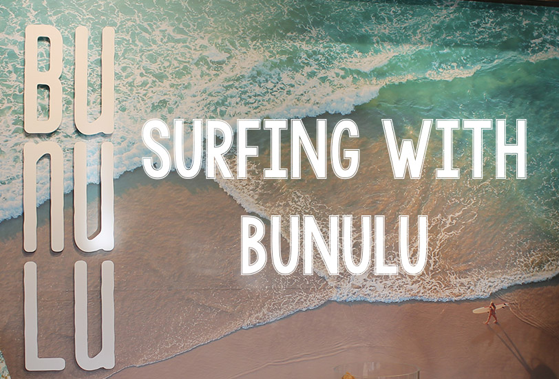 Surfing with Bunulu | Video | Awesome Giveaway
