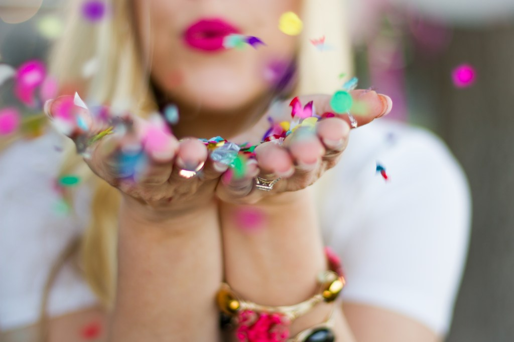 Birthday Edition: Confetti Photo Shoot and Video + 29 Random Things About Me