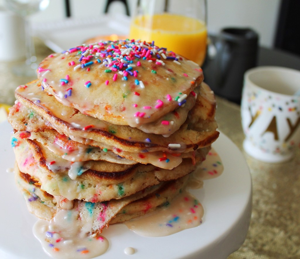Lazy Days, Funfetti Pancakes and Arena Football