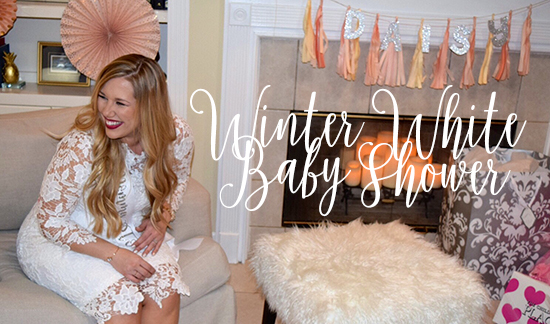 My Winter Wonderland Baby Shower