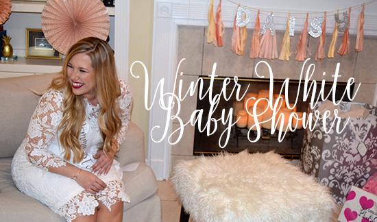 My Winter Wonderland Baby Shower