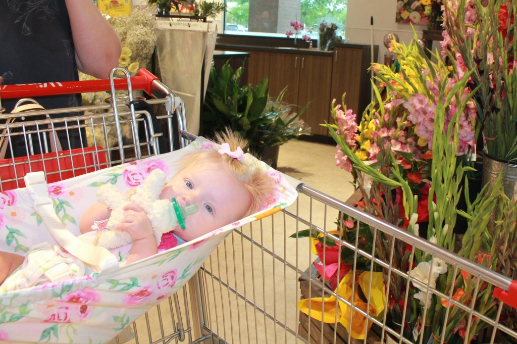 Shopping with Baby | Baby Hammock