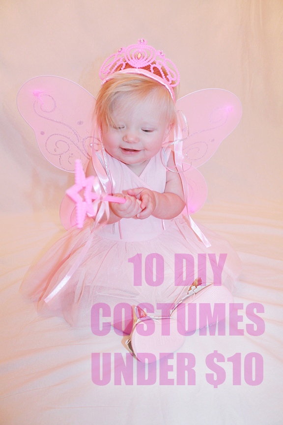 DIY Baby Halloween Costumes Under $10