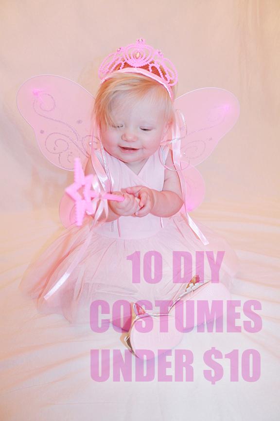 DIY Baby Halloween Costumes Under $10