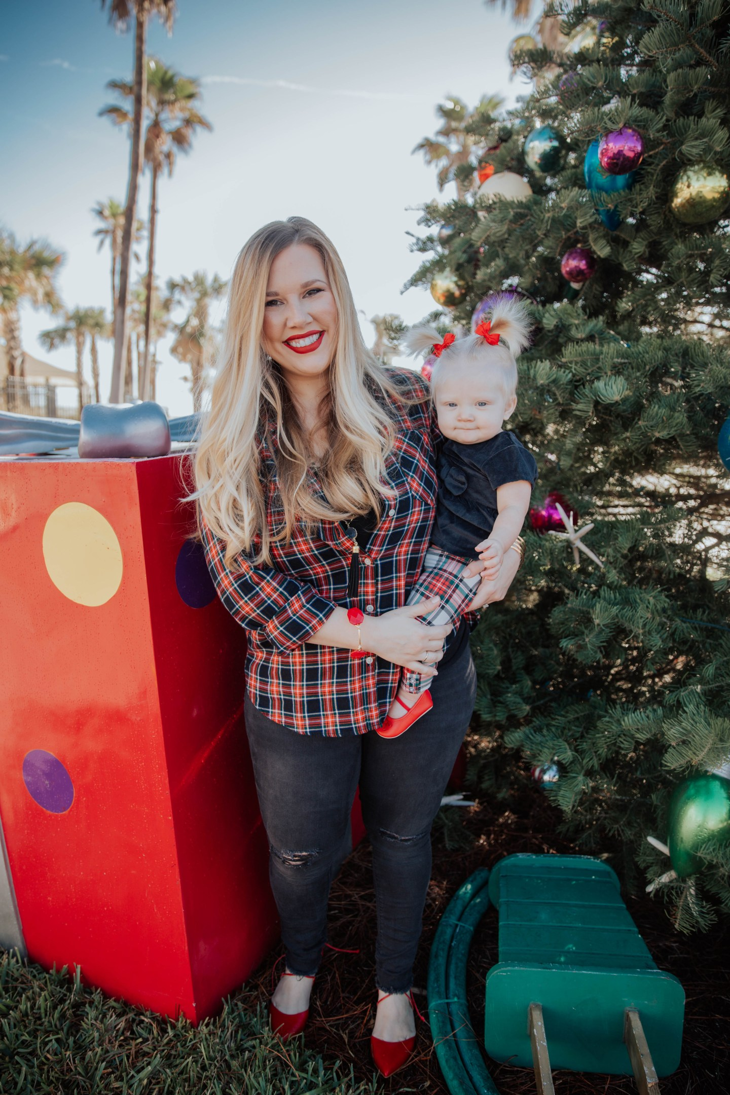 Mommy + Me: Casual Holiday Look