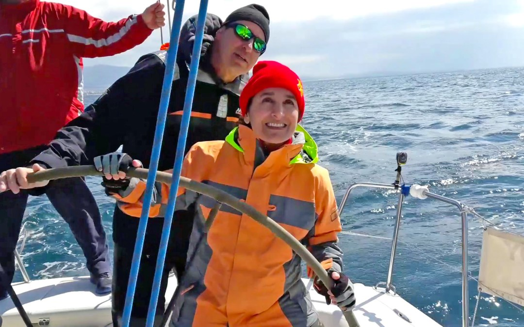 Sailing lesson no. 2 on racing yacht Exionas
