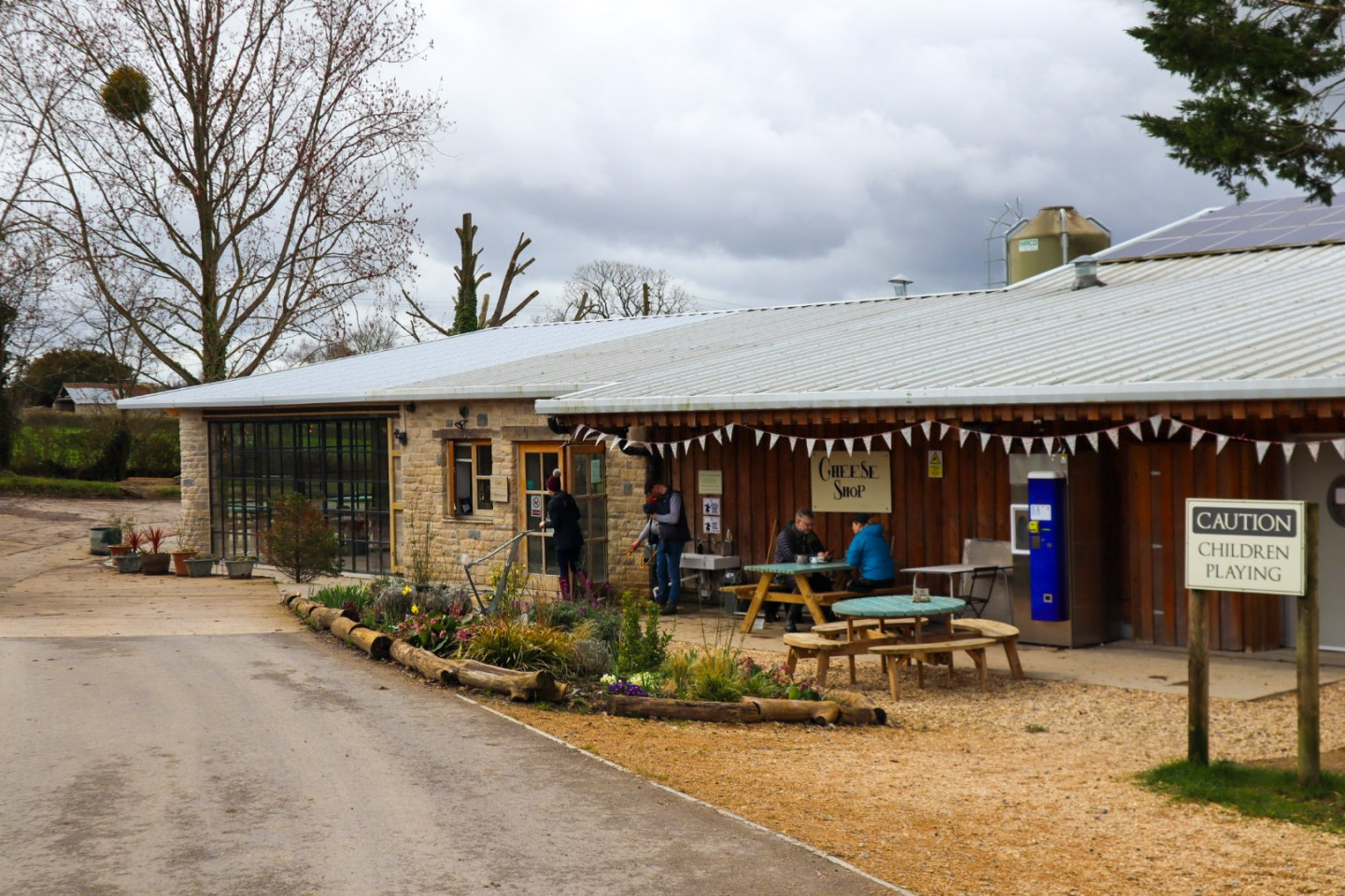 Bath Soft Cheese company, Kelston, near Bristol
