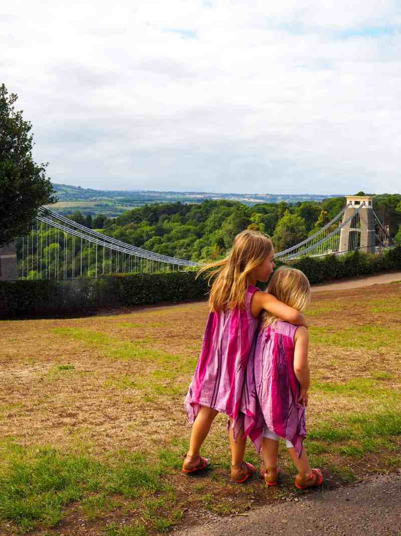 Clifton Observatory views of Clifton Suspension Bridge Bristol