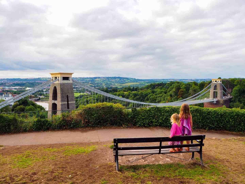 Clifton Suspension Bridge, Bristol with kids