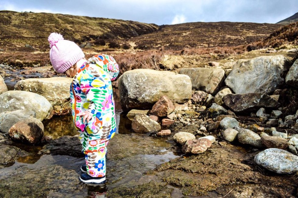 Isle of Skye Outdoor Activities for Children - Fairy pools