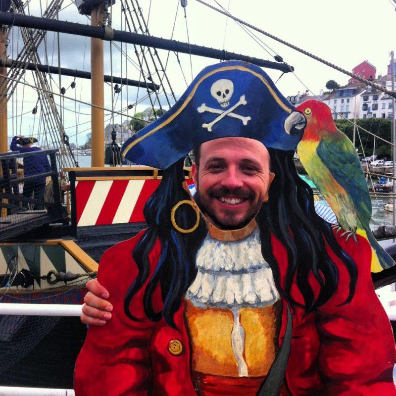 brixham pirate festival Devon UK